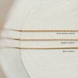 Load image into Gallery viewer, Cable Chain - Sterling Silver