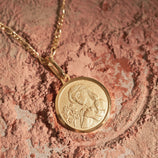 Load image into Gallery viewer, Virgo Pendant - Gold Vermeil