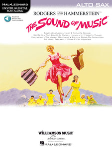 Play Along - The Sound Of Music For Alto Sax Book/CD - Fornaszewski Music Store, Granite City IL 62040 - www.stanf.com