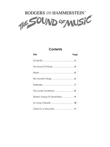 Play Along - The Sound Of Music For Alto Sax Book/CD