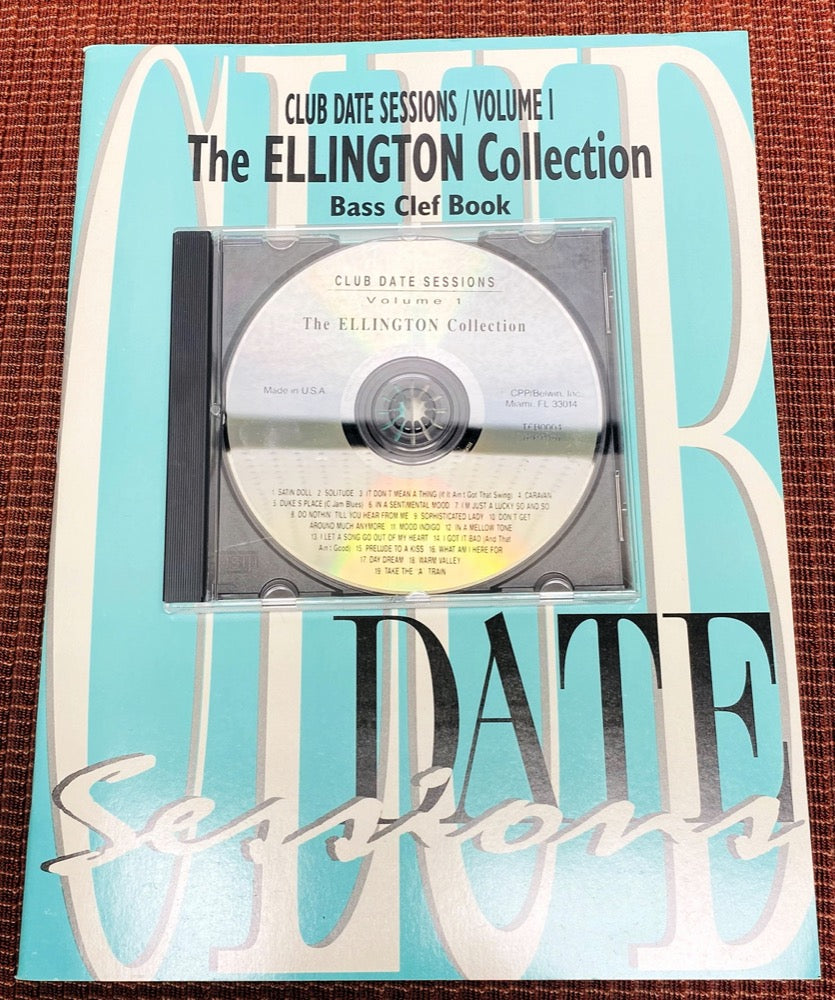 Play Along - Ellington Club Date Sessions - Bass Clef - Vol 1