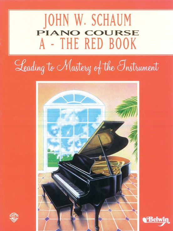 John W Schaum Piano Course - A - The Red Book - Fornaszewski Music Store, Granite City IL 62040 - www.stanf.com