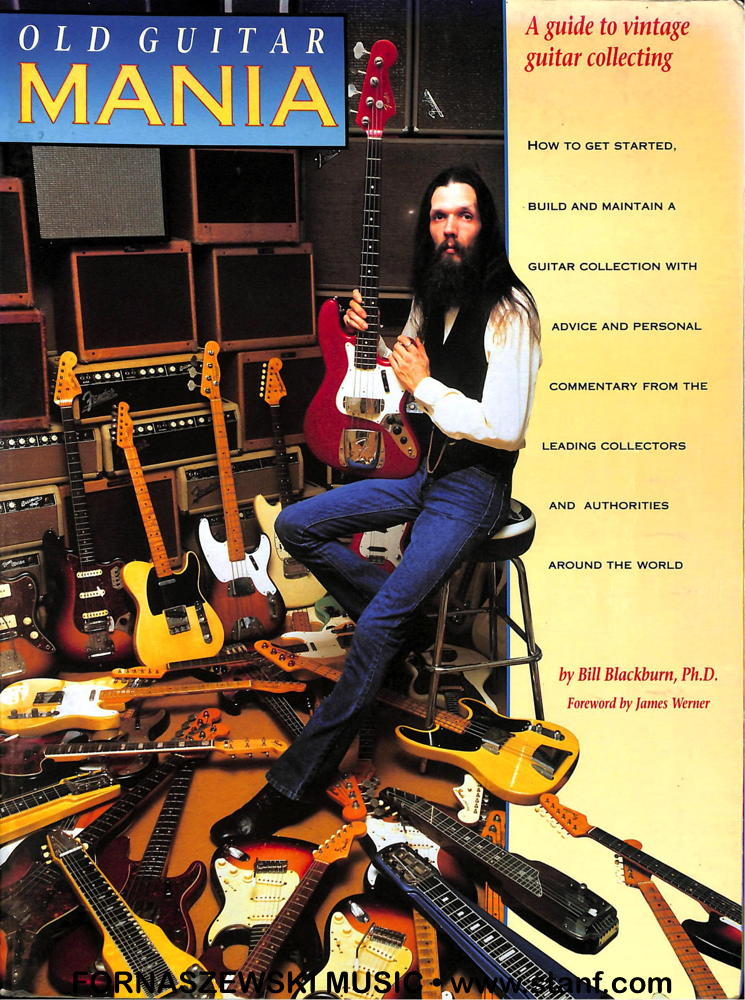 Blackburn - Old Guitar Mania - Vintage Collecting Guide