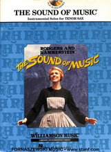 Load image into Gallery viewer, Play Along - The Sound Of Music For Tenor Sax Book/CD