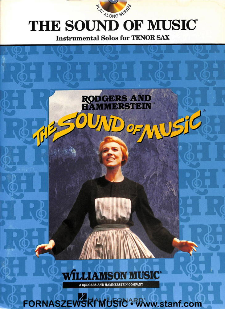 Play Along - The Sound Of Music For Tenor Sax Book/CD