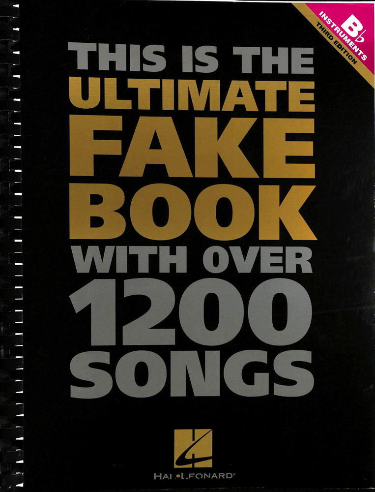 Hal Leonard - The Ultimate Fake Book Bb Edition