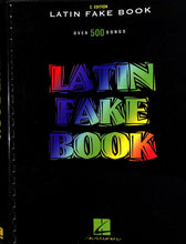 Load image into Gallery viewer, Hal Leonard - Latin Fake Book C Edition