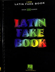 Hal Leonard - Latin Fake Book C Edition