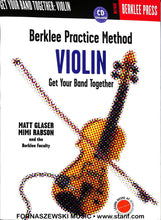 Load image into Gallery viewer, Berklee - Violin Practice Method CD - Fornaszewski Music Store, Granite City IL 62040 - www.stanf.com