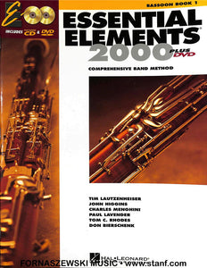 Essential Elements for Band 2000 - Bassoon Book 1