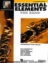 Load image into Gallery viewer, Essential Elements for Band - Bb Clarinet Book 1