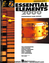 Load image into Gallery viewer, Essential Elements for Band - Percussion Book 1