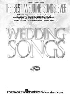 The Best Wedding Songs Ever - Piano Vocal Guitar
