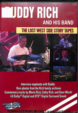 Load image into Gallery viewer, Buddy Rich - Lost West Side Story Tapes - DVD - Fornaszewski Music Store, Granite City IL 62040 - www.stanf.com