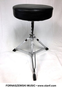 Adult Height Drum Throne - Chrome Base