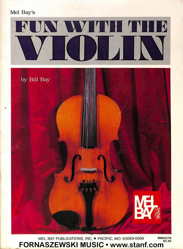 Mel Bay - Fun With The Violin