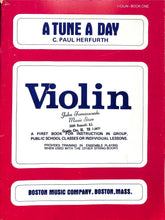 Load image into Gallery viewer, Herfurth - A Tune A day - violin method - book 1