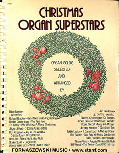 Christmas Organ Superstars Collection - Solos - All Organ