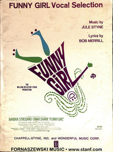 Funny Girl Vocal Selections - Piano Vocal Guitar