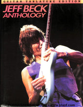 Load image into Gallery viewer, Jeff Beck Anthology - Guitar Tablature