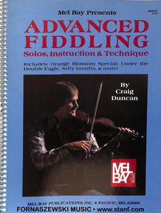 Mel Bay Advanced Fiddling - Solos Instruction & Technique