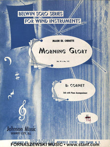 Morning Glory (Chenette) - Solo Cornet/Trumpet w/Piano