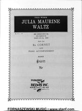 Load image into Gallery viewer, Julia Maurine Waltz (Weber) - Solo Cornet/Trumpet w/Piano