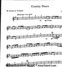 Load image into Gallery viewer, Country Dance (Pelz) - Solo Cornet/Trumpet w/Piano