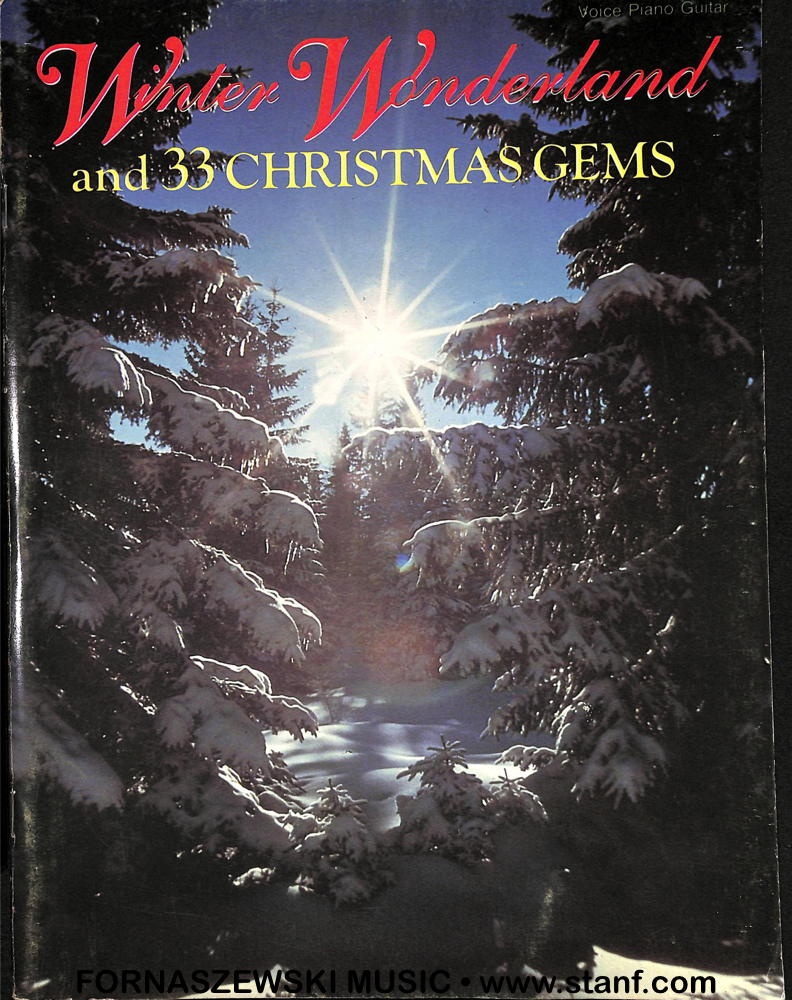 Easy Piano Arrangements Coates - Winter Wonderland and 33 Christmas Gems
