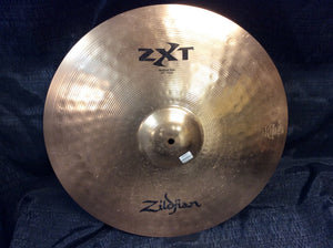 Pre-owned Zildjian 20 inch ZXT20MR - ZXT Medium Ride Cymbal 2668g - Z135 - Fornaszewski Music Store, Granite City IL 62040 - www.stanf.com