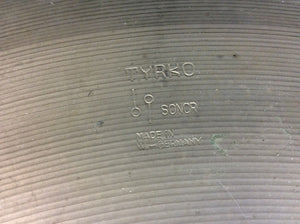 Vintage TYRKO Sonor Germany 20 inch Ride Cymbal 2014g - Z131