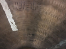 Load image into Gallery viewer, Vintage 22 inch UFIP Bravo Medium Heavy Ping Ride Cymbal 3496g - Z129