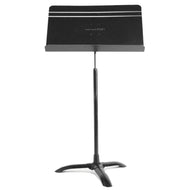Manhasset Music Stand - Black on Aluminum - Fornaszewski Music Store, Granite City IL 62040 - www.stanf.com