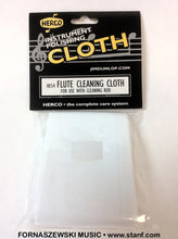 Load image into Gallery viewer, Herco HE54 Flute Cleaning Rod Cloth - Fornaszewski Music Store, Granite City IL 62040 - www.stanf.com