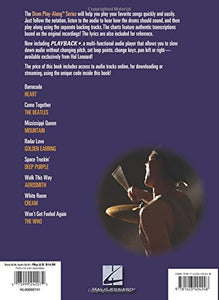 Play-Along - Classic Rock Vol 2 - Drumset Book/Audio