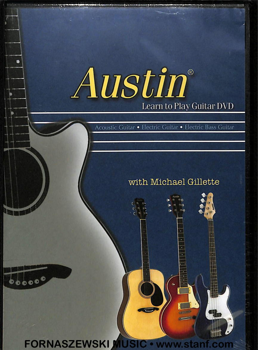 Austin - Learn To Play Guitar DVD - Fornaszewski Music Store, Granite City IL 62040 - www.stanf.com