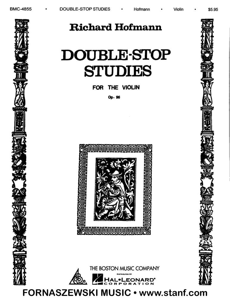 Hoffmann - Double-stop Studies For The Violin Op 96