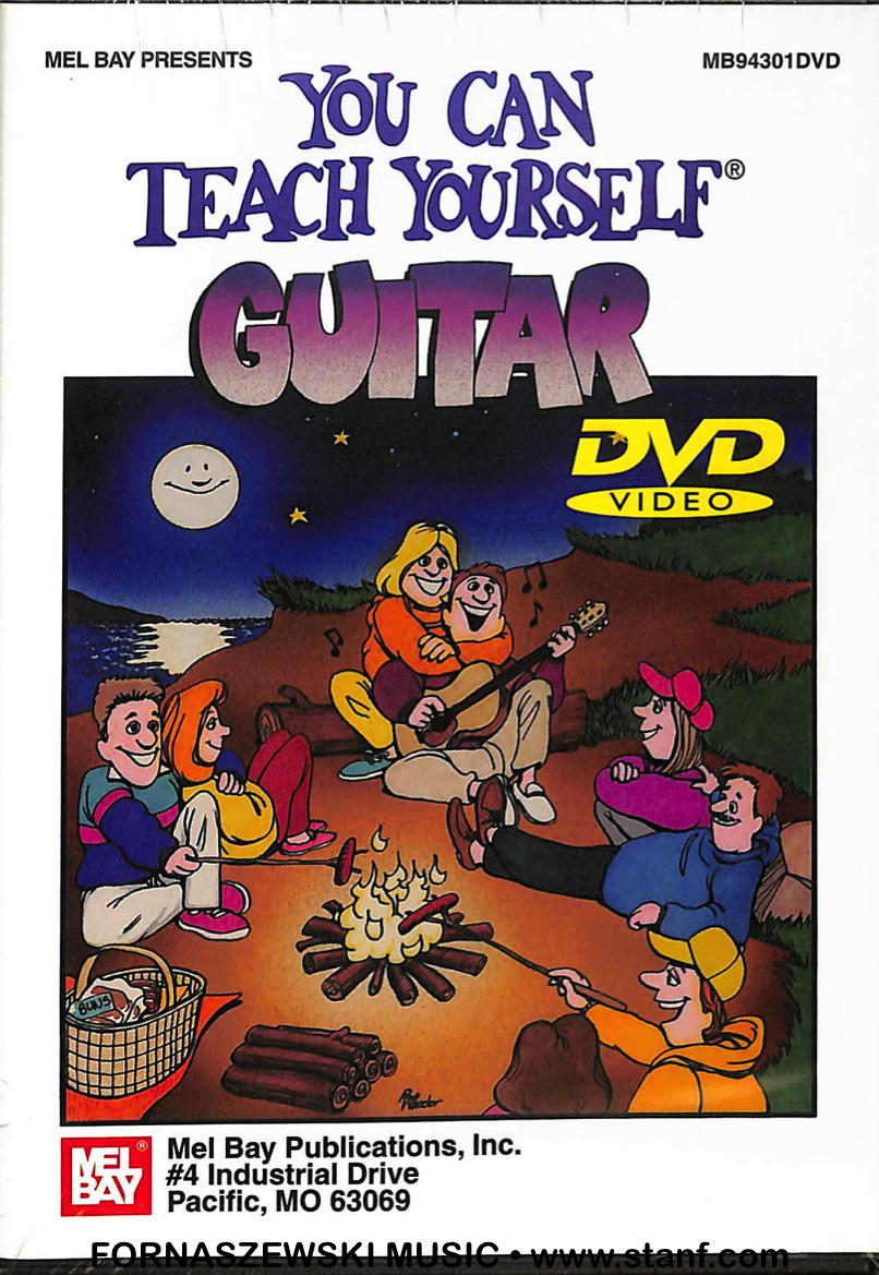 Mel Bay - You Can Teach Yourself - Guitar DVD - Fornaszewski Music Store, Granite City IL 62040 - www.stanf.com