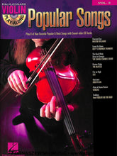 Load image into Gallery viewer, Hal Leonard - Play Along Popular Songs - Violin - Vol 2 - CD