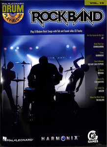Play Along - Rock Band Vol 19 - Drumset Book/Audio