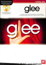 Load image into Gallery viewer, Play Along - Glee For Violin Book/CD