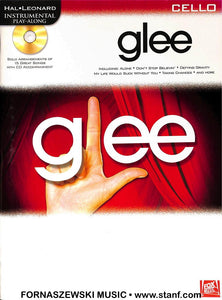 Play Along - Glee For Cello Book/CD - Fornaszewski Music Store, Granite City IL 62040 - www.stanf.com