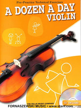 Load image into Gallery viewer, Willis - A Dozen A Day Violin w/ CD