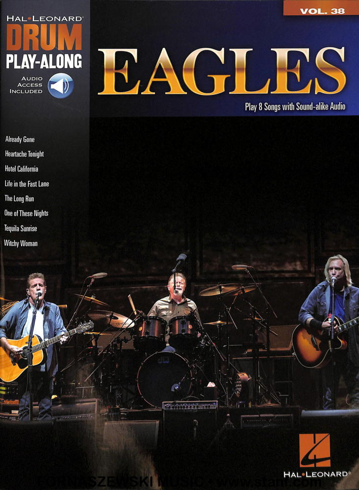 Play-Along - Eagles Volume 38 - Drum Book