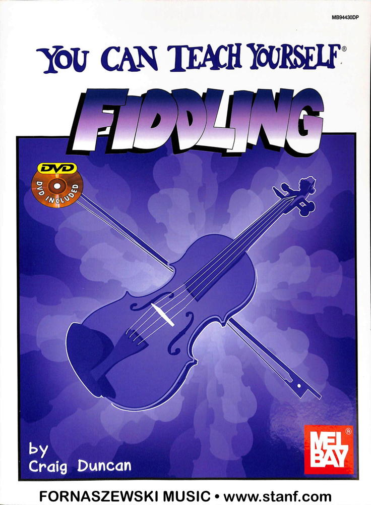 Mel Bay - You Can Teach Yourself - Fiddling w/ DVD