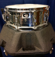 Pre-owned CB700 5.5x14 Chrome 10L Snare Drum with Case - Fornaszewski Music Store, Granite City IL 62040 - www.stanf.com