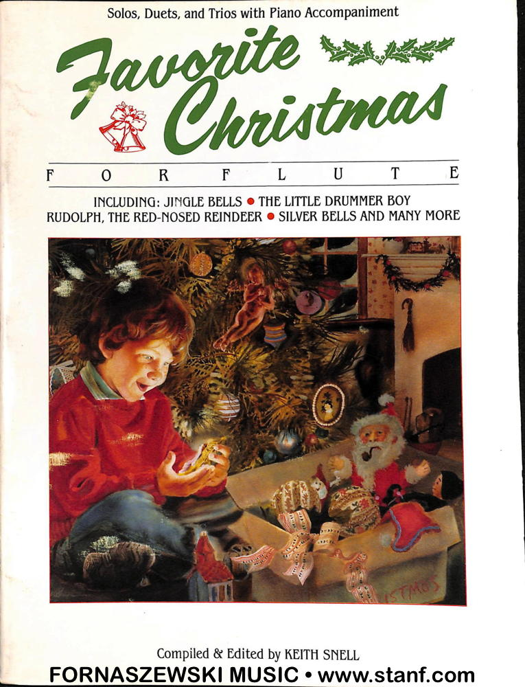 Favorite Christmas - solos duets trios for Flute w/ Piano