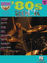 Load image into Gallery viewer, Play Along - '80s Rock Volume 8 - Drum Book/CD - Fornaszewski Music Store, Granite City IL 62040 - www.stanf.com