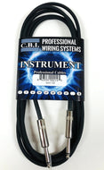 10YR - CBI 10FT 24awg 1/4-1/4 Mono Instrument Guitar Signal Cable - Metal Ends - Fornaszewski Music Store, Granite City IL 62040 - www.stanf.com