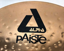Load image into Gallery viewer, 20 inch Paiste Alpha Heavy Ride Cymbal 2608g [preowned]